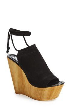Steve Madden 'Bonelli' Platform Wedge Sandal (Women) available at #Nordstrom