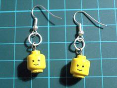 Lego Men Earrings
