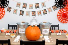 Put on a craft party any person who pins on Pinterest would be eager to attend! Make caramel apples and carving pumpkins are some ideas to get started.