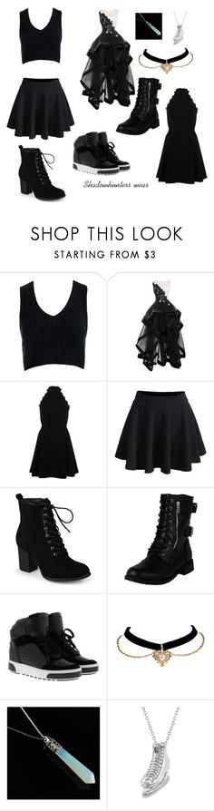 """""""Shadow hunters"""" by danielaarts ❤ liked on Polyvore featuring Sans Souci, River Island, WithChic, Journee Collection, MICHAEL Michael Kors and Allurez"""