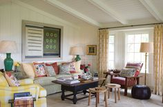 Horse Ranch Cottages | Kathryn M. Ireland Textiles and Design