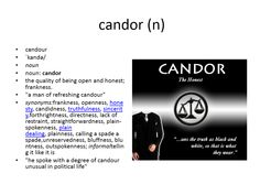 candor meaning #gre #cat #vocabulary