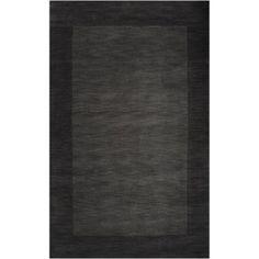 Art of Knot Elkmont Wool Area Rug, Black