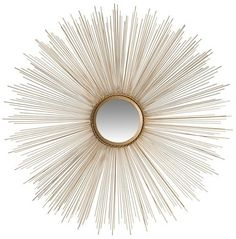 Safavieh Bedford Sunburst Mirror - Gold on shopstyle.com