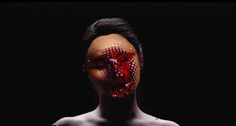 A Woman's Face Becomes an Evolving Cybernetic Surface | The Creators Project