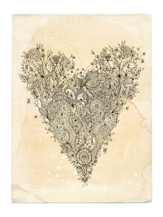 Love art print - 8x10. $24.00, via Etsy.