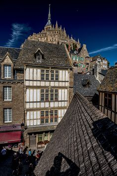 Mont St Michel, Normandy, France This is my absolute favorite place that I've ever visited.  I would love to live there.