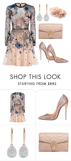A fashion look from December 2017 featuring sequin mini dress, pink shoes and gucci handbags. Browse and shop related looks. Classy Outfits, Chic Outfits, Beautiful Outfits, Dress Outfits, Look Fashion, Korean Fashion, Womens Fashion, Fashion Trends, Modest Fashion