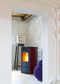 #mcz Face #wood #pellet #stove. For more details http://www.nutechrenewables.com/6kw-wood-pellet-stove-face-by-mcz/