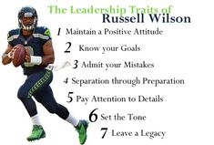 From this video, the dozens of games we've watched him play, and his interviews, Wilson demonstrates the qualities of a strong leader and a devoted team player. Description from carpejuvenis.com. I searched for this on bing.com/images
