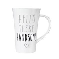 Hello Handsome Mug   Dunelm