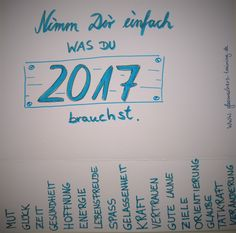 Wünsche fürs neue Jahr