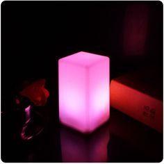 Battery Led Cubes Led Glow Cube Stools Led Luminous Light Bar Stool Color Changing For Event/Party/Wedding/Pub/Night club Outdoor Sconce Lighting, Club Lighting, Light Table, Lamp Light, Cubes, Bar Furniture For Sale, Furniture Ideas, Glow Lamp, Home Bar Areas