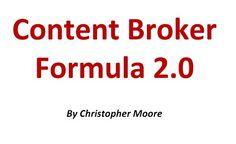 [WSO] Content Broker Formula | Design & Blogging Guide