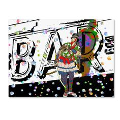 Bar Warrior by Miguel Paredes Graphic Art on Wrapped Canvas