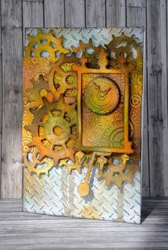 Crafting ideas from Sizzix UK: Like Clockwork!