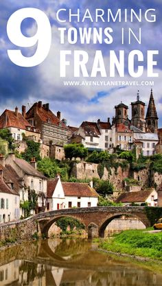 Semur – En – Auxois, a small and charming town in France! Click through to see…