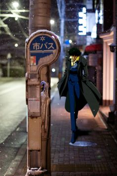 Love the movement, and well, of course, Spike...  >>> Cowboy Bebop