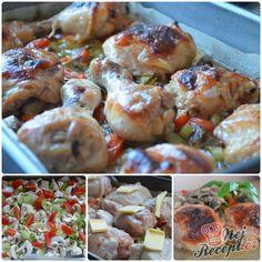 Sbírka 22 nejlepších receptů na chutný oběd z kuřecího masa, strana 2| NejRecept.cz Shrimp, Dishes, Chicken, Meat, Ethnic Recipes, Tips, Pineapple, Advice, Tablewares