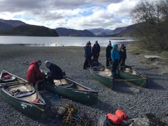 Year 10 camps from Keswick on the Derwent waters by canoe raft #abbotsholmeschool #oed #camps