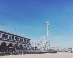 Santa Cruz CA: Had fun at Santa Cruz today  This place has rides arcades and restaurants by the beach. Definitely the place to chill with friends #santacruz #beach #california by storyof_e