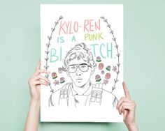 Matt the Radar Technician Kylo Ren Star Wars Art Adam Driver Funny Star Wars Art Star Wars Art Print Star Wars Print Kylo Ren Poster