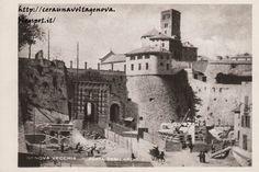 Genova - Chiesa di Santo Stefano -retro prima della costruzione di via XX Settembre