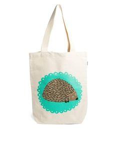 Talented Totes Mr Hedgehog Shopper Bag
