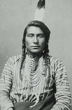 """The eyes of men speak words the tongue cannot pronounce.""  - Crow proverb.  Photograph of Hail Stone, circa 1890, a Crow Native American."