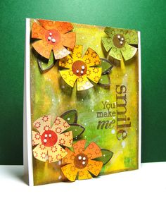 Created by Barb Engler using  Simon Says Stamp Exclusives Dies .  October 2013