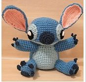 Free 'Lilo and Stitch' Ravelry Pattern{don't click on photo}~ here's the link: http://www.ravelry.com/patterns/library/amigurumi-stitch-from-lilo-and-stitch/