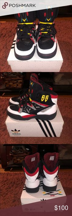 Adidas mutombo OG Preowned but lightly worn. adidas Shoes Sneakers Adidas  Men f4467bbc2b