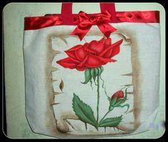 Eco bag ,pintura em tecido.