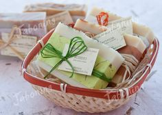 Cesta de jabones para regalar   Gift artisan soap See my web…   Flickr