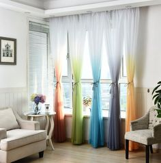 Cheap window treatments, Buy Quality decorative window treatments directly from China voile curtains Suppliers: Tulle Curtains Printed Kitchen Decorations Window Treatments American Living Room Divider Sheer Voile curtain Single Panel Living Room Decor Curtains, Living Room Divider, Bedroom Drapes, Living Room Bedroom, Living Rooms, Master Bedroom, Bedroom Divider, Bedroom Decor, Kids Bedroom