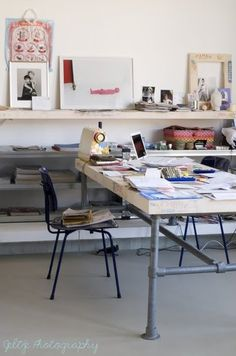 Mama Without Borders: 10 creative workspaces to inspire you this week