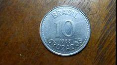 moeda de 50 e 10 cruzados - YouTube