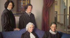 Female justices showcased in portrait - Jose DelReal