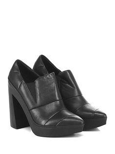 VIC MATIE - Scarpa con tacco - Donna - Scarpa con tacco in pelle trapuntata con…