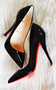 Christian louboutin shining high heel sandals fashion