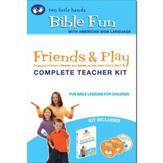 """American Sign Language - Bible Fun - """"Hands-on Bible lessons for children""""  """"…five lesson plans for children ages 0-8 about friendship, manners, obedience, cleanliness, and learning God's Word through the Bible. A special section on potty training is included for young children. Each lesson includes songs, videos, poems, books, discussion topics, activities, and crafts so you can provide a complete multisensory learning experience."""""""