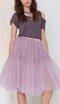 Lavender tutu skirt