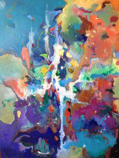 "Saatchi Online Artist Roger Kirk Nelson; Painting, ""Constellation 9"" #art"