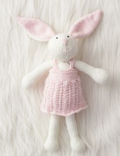 Zoe Bunny Knitted Animals 7d1ab0a9e9a5