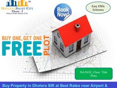 Purchase Property in Dholera SIR at Best Price near Dholera International Airport. Low Rate Plots, Two Side Open, NA/NOC Plot, Govt. Approved, Residential plots. Bumper Offers !!! Buy 1 Plot & Get 1 Plot Free. Booking Amount Rs. 5000/- Only. Zero Down Payment Plan. Easy EMI Schemes.  #Dholera #DholeraSIR #DholeraSmartCity #Gujarat