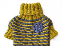 Pet Clothing Small Dog Clothes Hand Knit Dog Sweater Knit Dog Clothing