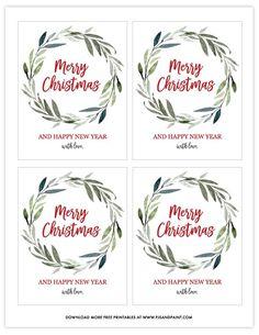 Christmas Wine Bottle Labels - Free Printable - Pjs and Paint Christmas Wine Bottle Labels, Wine Bottle Tags, Christmas Labels, Wine Tags, Christmas Ideas, Christmas Crafts, Merry Christmas, Labels Free, Soap Labels