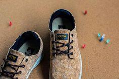 Ecologie: Chaussures Vans en Cork