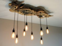 This unique buckeye slab fixture is perfect for any office, kitchen, bedroom, or dining area if youre looking to give your space of choice a more