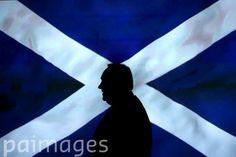 Scottish First Minister Alex Salmond leaves a press conference at St Andrews House in Edinburgh, after an agreement between the UK Government and the Scottish Government was signed for referendum for the independence of Scotland.